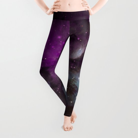 Creation of a Pink Nebula Leggings