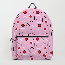 Memphis Tribes - Red and Pink Backpack