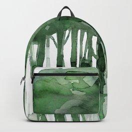 Tree Impressions No. 2B by Kathy Morton Stanion Backpack