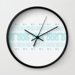 A Hiss on Dots and Lines Wall Clock