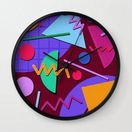 Memphis #91 Wall Clock