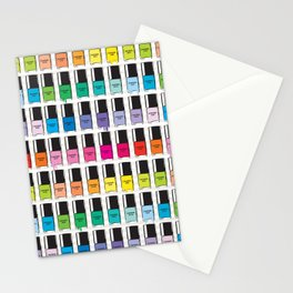 Pantone color Nail Polish Spring color Stationery Cards