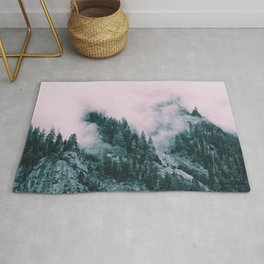 Pink Clouds Creeping Rug