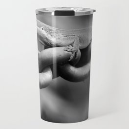 Anole on Chain II Travel Mug