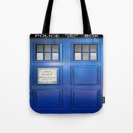 doctor who public box  Tote Bag
