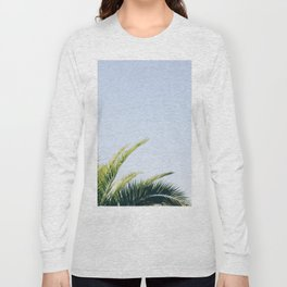 Green Palm Tree Long Sleeve T-shirt