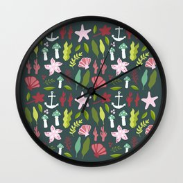 Under The Sea Flash Sheet Wall Clock