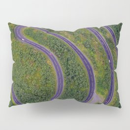 Sinuous road Pillow Sham