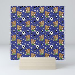 SOCCER STARS Mini Art Print