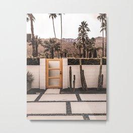 Palm Springs House Metal Print