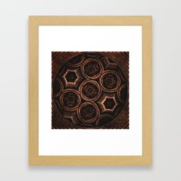 Plia Framed Art Print