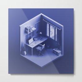 Workspace Metal Print