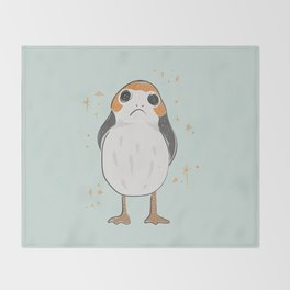 Space Porg Throw Blanket