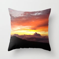 Sunrise - Maui Throw Pillow