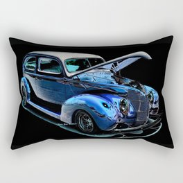 1939 Ford Coupe By Annie Zeno Rectangular Pillow