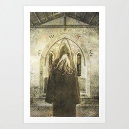 Dark Victorian Portrait: The Pious Art Print
