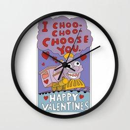 I CHOO-CHOO-CHOOSE YOU Wall Clock