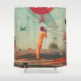 Rover Shower Curtain