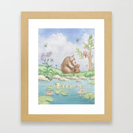 Beary Sweet Framed Art Print