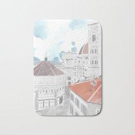 Firenze Italy Bath Mat