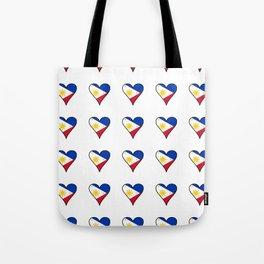 Flag of Philippines 3 -Pilipinas,Filipinas,filipino,pinoy,pinay,Manila,Quezon Tote Bag