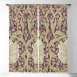 William Morris Pimpernel Orchid & Violets Floral Textile Pattern Blackout Curtain