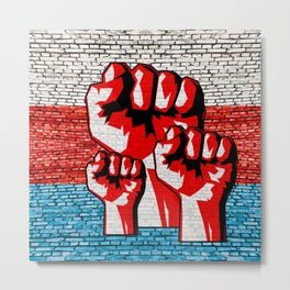 Power Fist Metal Print