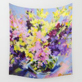 Beautiful Bouquet Wall Tapestry