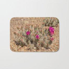 Desert Cacti in Bloom - 2 Bath Mat
