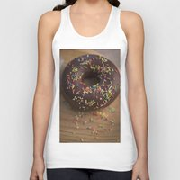 donut Tank Tops featuring Donut by LaiaDivolsPhotography