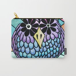 Weird Animals 1: Pinecone Owl 1 Carry-All Pouch