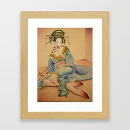 East meets West Framed Art Print