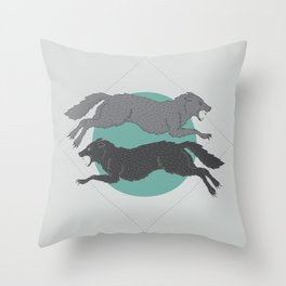 Sons of Fenrir Throw Pillow
