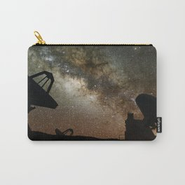 Radio Telescopes and Milky Way Carry-All Pouch