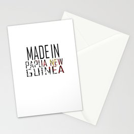 Made In Papua New Guinea Stationery Cards