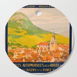 Vintage poster - Route du Jura, France Cutting Board