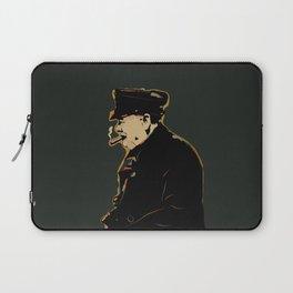 Winston Churchill Pop Art Quote Laptop Sleeve