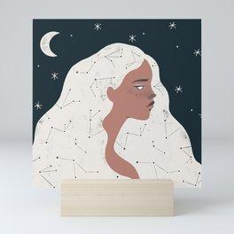 keeper of stars Mini Art Print