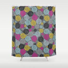 Yarn Yarn Yarn Yarn Yarn Shower Curtain