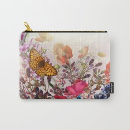 Meadow flowers. Shiny happy morning Carry-All Pouch