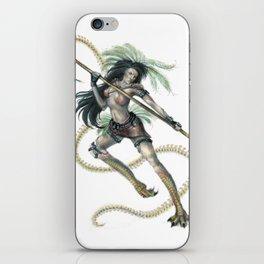 Marukyd - Warrior iPhone Skin
