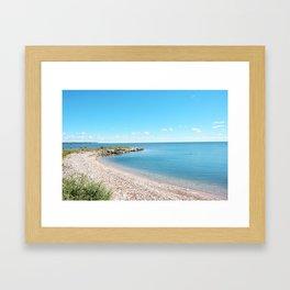 AFE Tommy Thompson Park 2, Beach Photography Framed Art Print