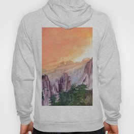 Morning Light On The Mountain Hoody