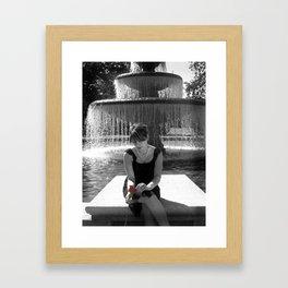 Plumas Fountain Framed Art Print