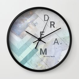 DREAM on many levels Wall Clock
