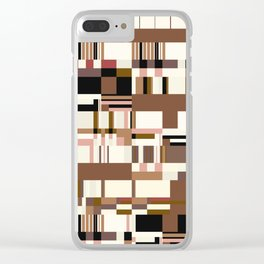 Debussy Little Shepherd (Coffee Colours) Clear iPhone Case