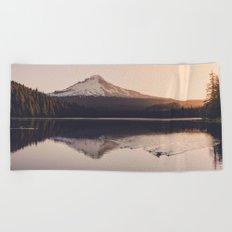 Wild Mountain Sunrise Beach Towel