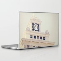 percy jackson Laptop & iPad Skins featuring Jackson Tower by Melissa Lund