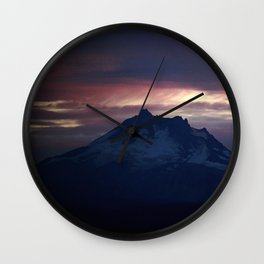 Jefferson at Sunset Wall Clock