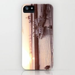 Osaka Sunset, Japan iPhone Case